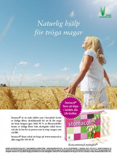 NNCS Stomaco 2011 annons kvinna